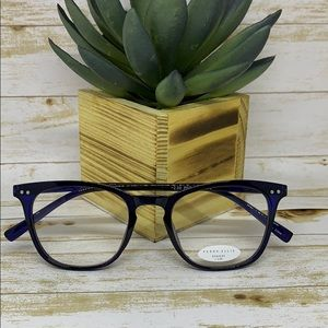 Perry Ellis reading glasses 2.00 Navy Blue Readers